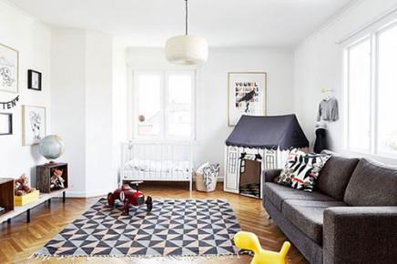 Spielecke im wohnzimmer wohnideen einrichten Wohnzimmer scandi style