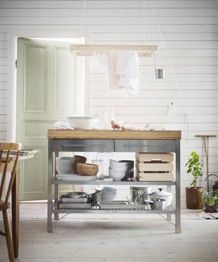 Stabile Werkbank in der Küche | Wohnideen einrichten