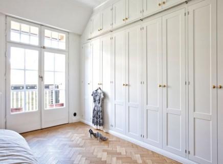 Stilvolle begehbarer kleiderschrank mit Kvanum Dalby