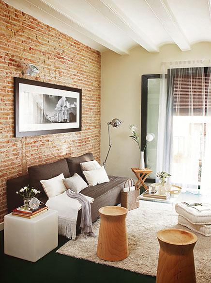 stilvoll-eingerichtete-kleine-wohnung-barcelona