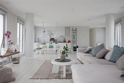 Stilvolle Wohnung im Weißen Cape IJburg in Amsterdam