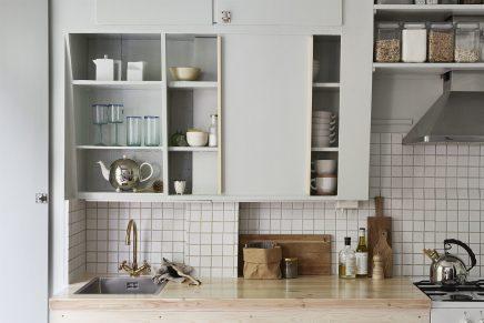 Underlayment In Badkamer : Diy kühle minze grüne küche wohnideen einrichten