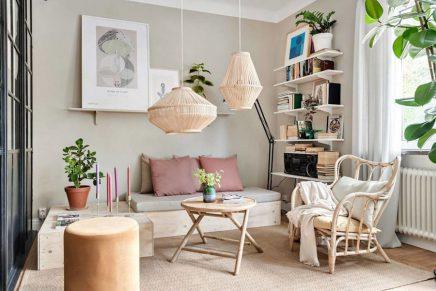 Super Schone Mini Loft Wohnung Von 48m2 Wohnideen Einrichten