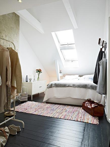Swedish Schlafzimmer im Dachgeschoss | Wohnideen einrichten