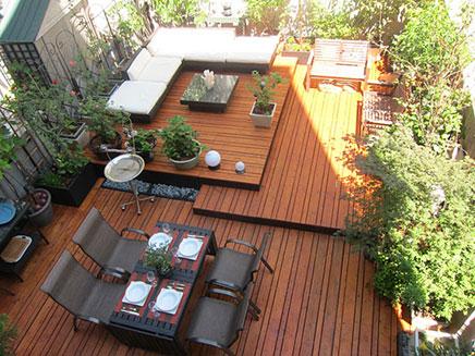 Terrasse Garten ideen aus Brooklyn