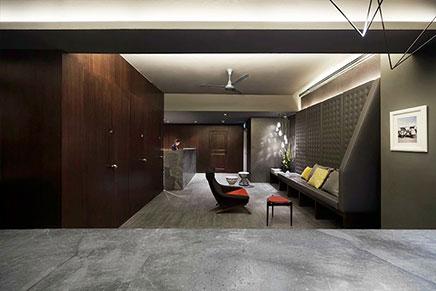 The Pod Kapsel-Hotel in Singapur