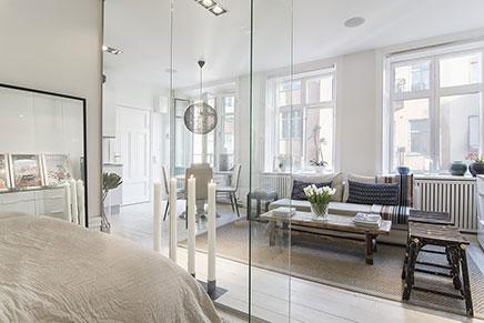 Glaswand Im Wohnzimmer
