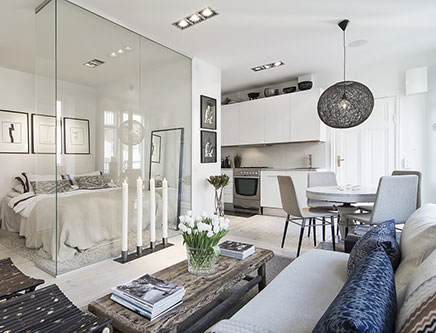 tolle-idee-dekoration-kleinem-wohnzimmer
