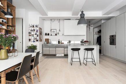 Tough moderne Küche mit Kochinsel | Wohnideen einrichten