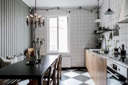 Ich Hatte Auch Ein Bestimmtes Bild Davon, Wie Die Küche Aussehen Würde.  Eine Küche Mit Einem Skandinavischen Vintage Touch. Obwohl Man Die Küche  Auf Diese ...