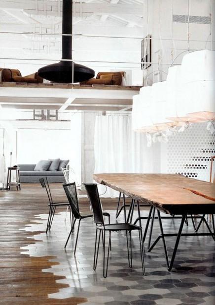 Uberlauf Von Fliesen Und Holzboden Wohnideen Einrichten