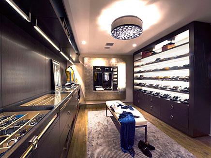 Begehbarer kleiderschrank luxus  Ultimative begehbarer Kleiderschrank für den Mann | Wohnideen ...