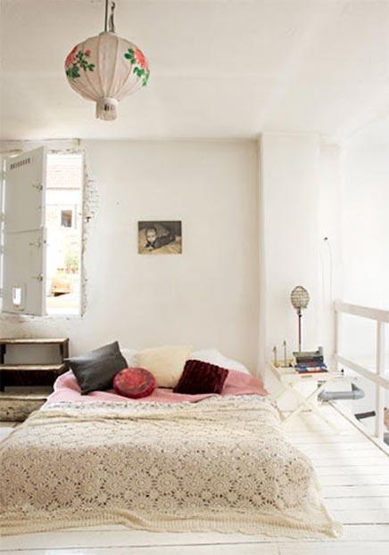 Vintage Bohemian Schlafzimmer