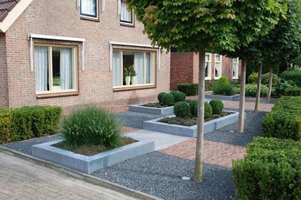 Vorgarten Ideen Einfamilienhaus