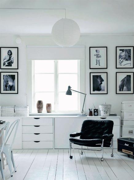 Weiß Innenraum von Fotografen Magdalena Björnsdotter