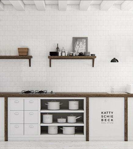 Weiß Küche von Katty SchieBeck