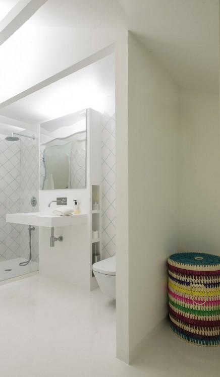 kombination schlafzimmer badezimmer – chillege, Badezimmer