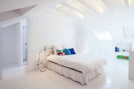 Weis Schlafzimmer Badezimmer Kombination Dachgeschoss