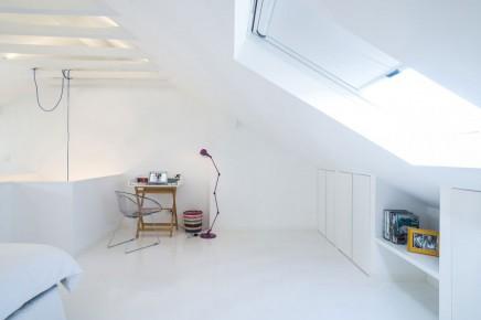 weiß schlafzimmer badezimmer kombination dachgeschoss | wohnideen, Badezimmer dekoo