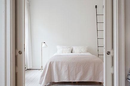 Weiße Schlafzimmer von Stylist Elin Kling
