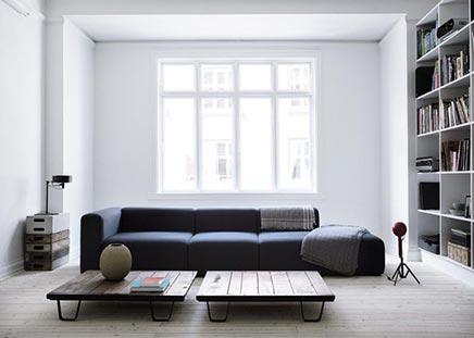 Wohnzimmer von Dänischen Designerin Yvonne Koné