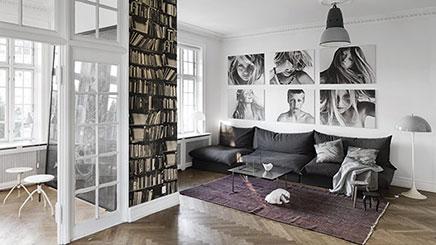 Wohnzimmer von dänischen Fotografen Franne Voigt