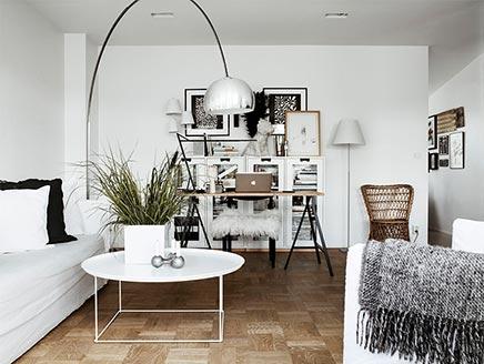 Wohnzimmer der Innenarchitektin Moa Lundberg | Wohnideen einrichten