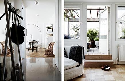 Wohnzimmer der Innenarchitektin Moa Lundberg