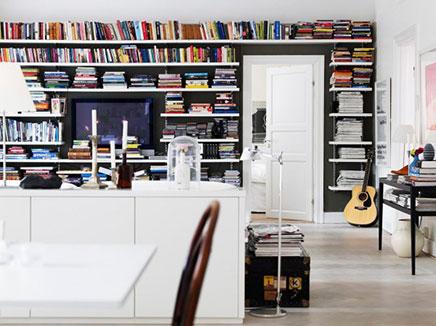 Wohnzimmer der Innenarchitektin Nanna Lagerman