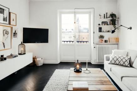 Wohnzimmer mit kühlen skandinavischen Design | Wohnideen einrichten