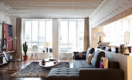 Wohnzimmer loft David Souffan