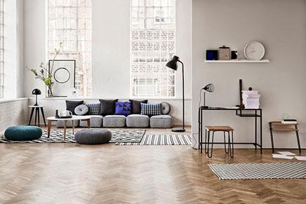 Wohnzimmer Styling von Sania Pell